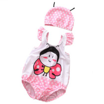Baby 3D Cute Butterfly Swimsuit With Swim Cap 0-3 Years