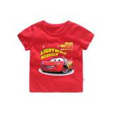 Boys Prints Racing Cars T-shirts