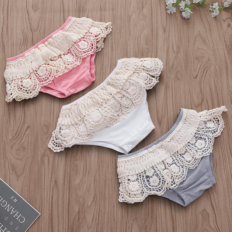 Baby Girl Floral Border Tassels Waist Shorts