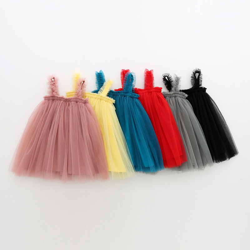 Girls Tutu Slip Dresses