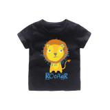 Boys Prints Roar Lion T-shirt