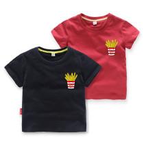 Girls Prints French Fries T-shirts