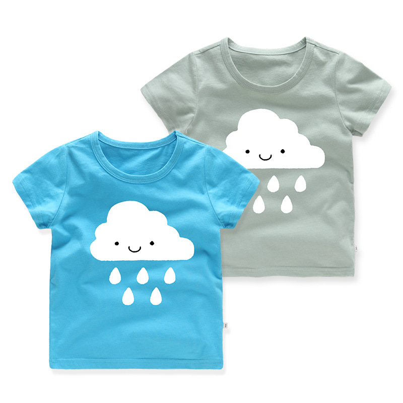 Girls Prints Cloud T-shirt