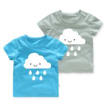 Girls Prints Cloud T-shirt