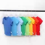 Boys Pure Color T-shirts