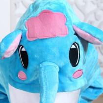 Kids Elephant Onesie Kigurumi Pajamas Kids Animal Costumes for Unisex Children