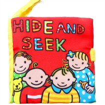 Baby's First Story Cloth Book Hide & Seek