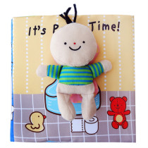 Baby's First Story Cloth It's Polly Time
