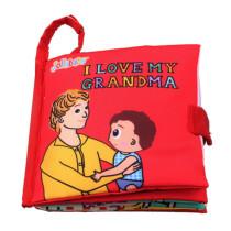 Baby's First Story Cloth Book I Love My Grandma