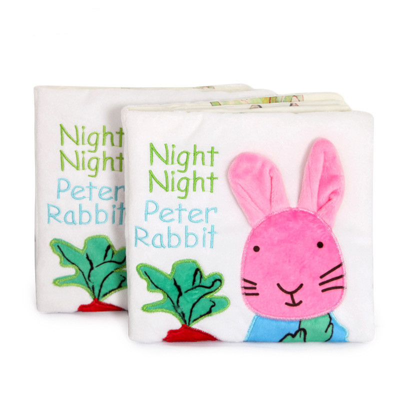 Baby's First Story Cloth Book Night Night Peter Rabbit
