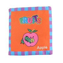 Baby's First Touch and Feel Soft Cloth Book Learn Fruits