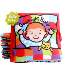 Baby's First Story Cloth Book Goodnight Baby