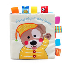 Baby's First Story Cloth Book Goodnight Dog Baby