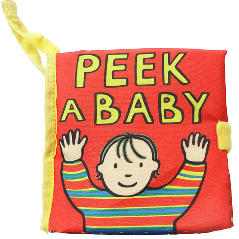 Baby's First Story Cloth Book Peek ABABY