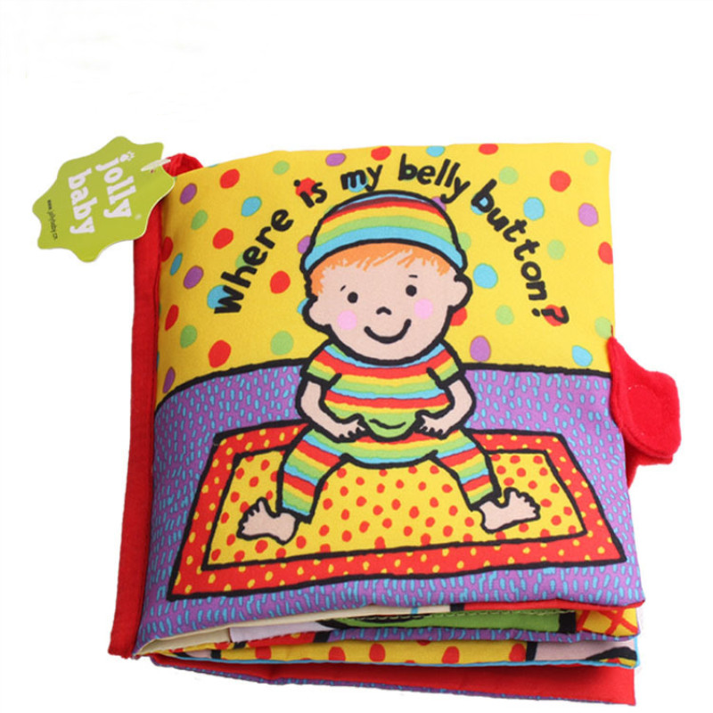 Baby's First Story Cloth Book Where Is My Belly Buton