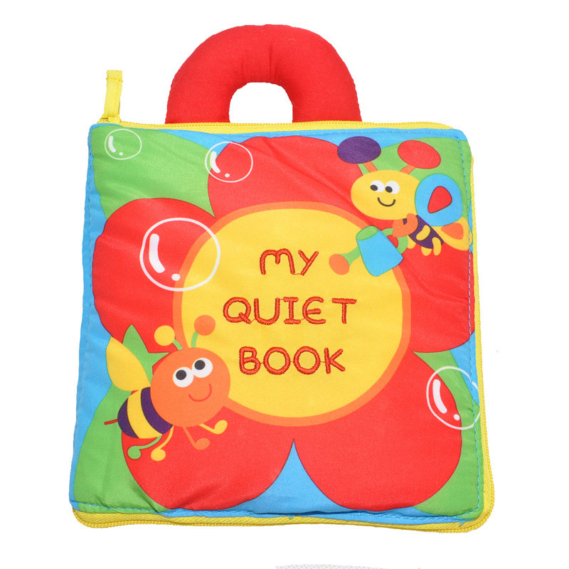 Baby's First Story Cloth Book My Quiet Book