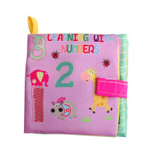Baby's First Touch and Feel Soft Cloth Book Learn Numbers