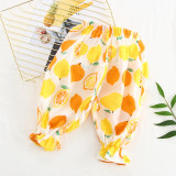 Girls Prints Lightweight Bloomers Pants for Summer