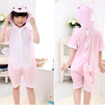Kids Dinosaur Summer Short Onesie Kigurumi Pajamas
