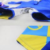Kid Boys Print Thomas Trains Swimsuit With Swim Cap