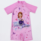 Kid Girl Cartoon Princess Swimsuit