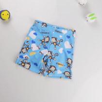 Kid Boys Print Monkey  Swimwear Trunks Swim Boxer Shorts