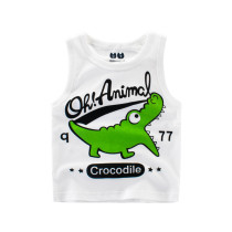 Boys Print Crocodile Vest Tank