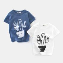 Boys Print Cactus T-shirt