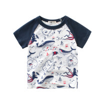 Boys Print Whales T-shirt