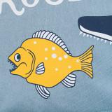 Boys Print Fishing Trouble T-shirt