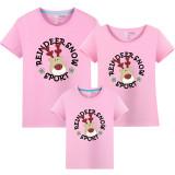 Matching Family Prints Deer Famliy T-shirts