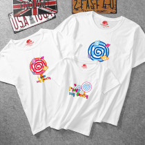 Matching Family Prints Colorful Lollipop T-shirts