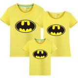 Matching Family Prints Batman Famliy T-shirts