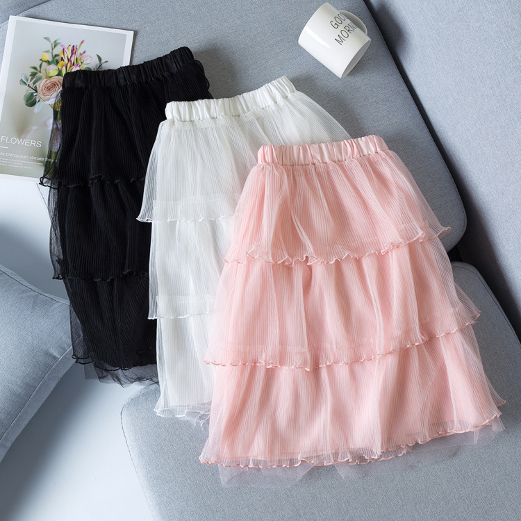 Kid Girl 3 Layers Tutu Skirt