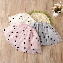 Kid Girl Stars Tutu Skirt