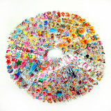 5 Different Sheets 3D Puffy Stickers For Kids & Toddlers