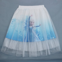 Kid Girl Print Princess Tutu Skirts