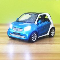 Kid Smart Model Vehicles Cars Alloy Pull Back Toy Car With Sound and Light 1/48 Scale For 3Y+