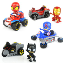 Transformation Cartoon Vehicles Model Alloy Toy Cars 1/48 Scale For 3Y+
