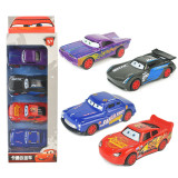 Kid Model Cars Alloy Pull Back Toy Car 1/48 Scale 4 Packs For 3Y+