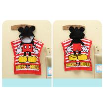 Baby Cartoon Mouse Hooded Bathrobe Towel Bathrobe Cloak Size 24 *47