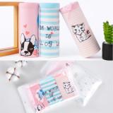 Kid Girls 3 Packs Stripes Prints Cat Dog Boats Briefs Cotton Underwear
