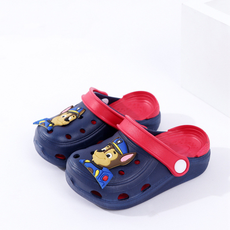 Toddlers Kids Cartoon 3D PAW Patrol Flat Beach Slippers Sandals
