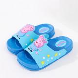 Toddlers Kids Cartoon 3D Peppa Pig Flat Beach Slippers