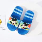 Toddlers Kids Cartoon Mickey Minny Flat Beach Slippers