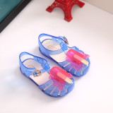 Kid Toddler Girl Cartoon 3D Ice-lolly Jelly Flats Shoes