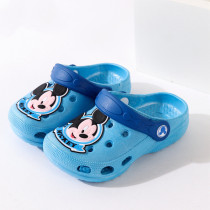 Toddlers Kids Cartoon 3D Mickey Flat Beach Slippers