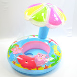 Toddler Kids Inflatable Starfish Inflatable And The Mushroom Head Awning Sitting Swimming Ring