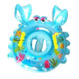 Toddler Kids Pool Floats Inflated Swimming Crab Sitting Swimming Circle