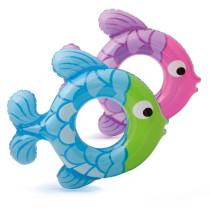 Toddler Kids Pool Floats Inflatable Swimming Rings Fish Swimming Circlel